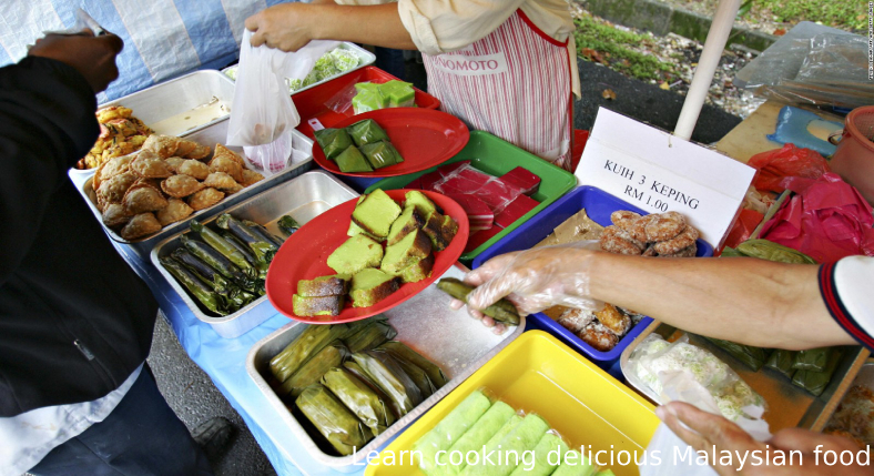 Learn cooking delicious Malaysian food